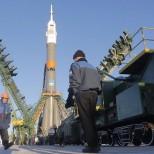 Около 20 военных вертолетов и самолетов будут задействованы в запуске корабля «Союз» к МКС