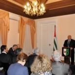 В Посольстве Абхазии в РФ прошла конференция, посвященная 20-летию Конституции РА
