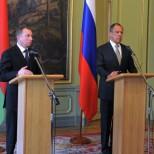 Министры иностранных дел России и Белоруссии проведут встречу в Минске
