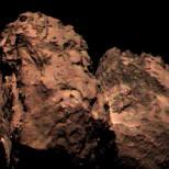 Rosetta прислала первое цветное фото кометы