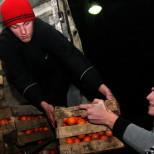 Абхазский конвой привез в ДНР 50 т гумпомощи, включая 23 т мандаринов