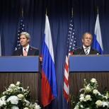 Лавров обсудил с Керри пути урегулирования конфликта Палестины и Израиля