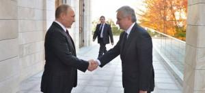 Путин Хаджимба
