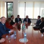 О встрече с делегацией из Турции.