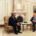 Рауль Хаджимба и Владимир Путин обсудили договор о союзничестве и партнерстве
