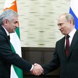 В Сочинской резиденции Президента России состоится встреча Владимира Путина и Рауля Хаджимба
