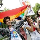 В Тбилиси прошла акция в поддержку сексуальных меньшинств
