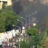 Более 50 человек пострадали во время взрыва на митинге в Турции