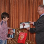 Владимир Путин ответил на письмо школьника из Абхазии
