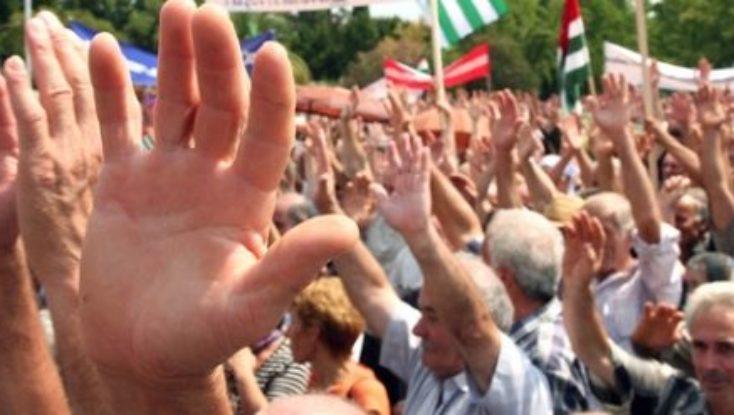 Оппозиция Абхазии требует назвать конкретные именна радикалов,в противном случае информация о подготовке переворота будет расценена как провокация