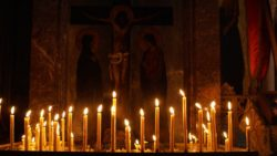 В христианских храмах Абхазии этой ночью встретят Рождество Христово